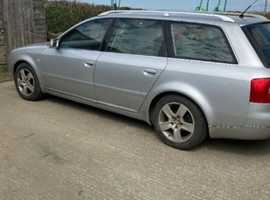 Audi A6, 2003 (53) Silver Estate, Manual Diesel, 186,000 miles
