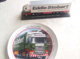 Eddie drivers lorry and Platt but gives .ease horses named