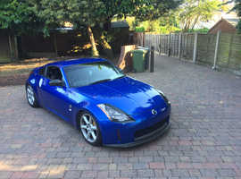 Nissan 350 Z, 2004 (53) Blue Sports, Manual Petrol, 102,000 miles