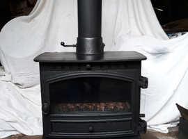 Stove Multifuel Hunter Herald 8 Boiler Stove.