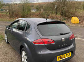 Seat Leon, 2007 (07) grey hatchback, Manual Diesel, 140,500 miles