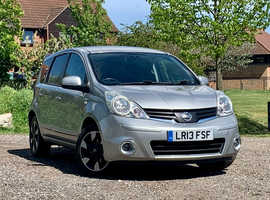 Nissan Note, 2013 (13) Silver MPV, Manual Diesel, 81,396 miles