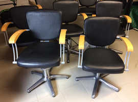 Hairdressing or desk chairs