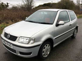 Volkswagen Polo, 2000 (W) Silver Hatchback, Manual Petrol, 110,900 miles