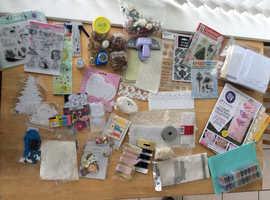 Mixed Card craft items
