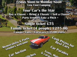 THE COOPS CLASSIC CAR & VEHICLE SHOW/FESTIVAL