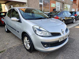 Renault Clio, 2006 (56) Silver Hatchback, Manual Petrol, 85,000 miles