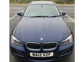 BMW 3 Series, 2012 (12) Blue Estate, Manual Diesel, 115,665 miles
