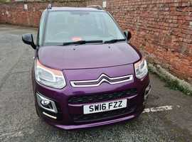 Citroen C3, 2016 (16) Purple MPV, Manual Petrol, 24000  miles