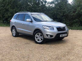 Hyundai Santa Fe, 2010 (60) Silver Estate, Manual Diesel, 142,849 miles