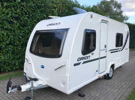 Bailey Orion 430-4 4 berth 2012 Caravan with Fixed Bed and Motor Movers