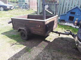 Good solid 3ftx5ft general purpose 350kg trailer