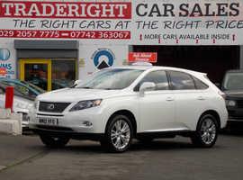 Lexus Rx, 2010 (10) white estate, Cvt Hybrid, 67339 miles