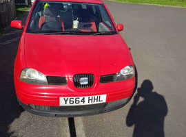 Seat Arosa, 2001 (Y) Red Saloon, Manual Petrol, 67,189 miles
