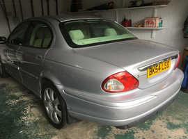 Jaguar X-TYPE, 2004 (54) Silver Saloon, Automatic Petrol, 86,700 miles