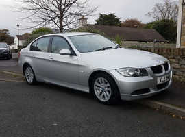 BMW 3 Series, 2006 (06) Silver Saloon, Manual Diesel, 136,000 miles