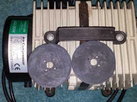 ACO009E AC140 HAILEA AIR PUMP 145L/m piston compressor hydroponic koi fish pond