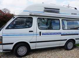 Toyota Hiace Hi Top Motorhome/Campervan Automatic