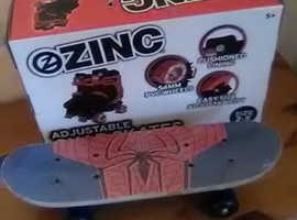 Boys Roller Skates & Skateboard