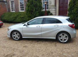 Mercedes A-CLASS, 2017 (66) Silver Hatchback, Automatic Diesel, 19,200 miles