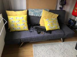 Lovely sofa bed.