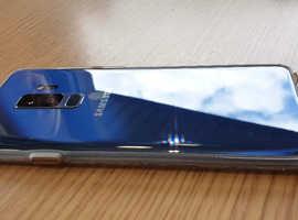 128 GB SAMSUNG GALAXY S9 PLUS  CORAL BLUE.  OPEN