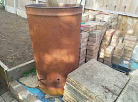 Garden incinerator bin fire Burner for Rubbish Leaves Paper 120L