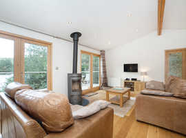 125 year licence Luxury Cornish Lodges, OPEN ALL YEAR, Looe 15 minutes, Hot tubs, Saunas, Cinema rooms....FREE