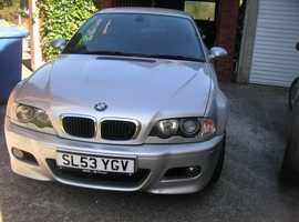 BMW 3 Series, 2003 (53) NO MOT  Coupe, Manual Petrol, 100,039 miles