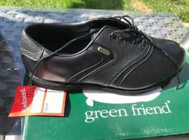 Golf Shoes Black - Green Friend New Reduced