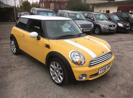 Mini MINI, 2006 (56) Yellow Hatchback, Manual Petrol, 90,000 miles