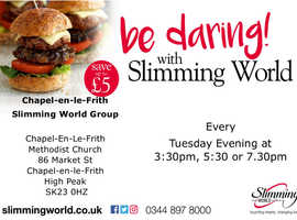Extra Easy weight loss with Slimming World at Chapel en le Frith
