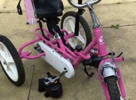 Pink special needs theraplay trike