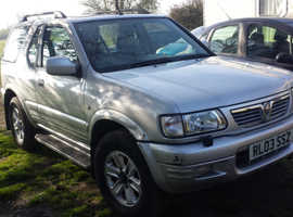 vauxhall frontera  model cars wanted for parts