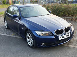BMW 3 Series, 2011 (61) Blue Saloon, Manual Diesel, 160,000 miles