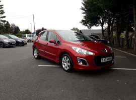 Peugeot 308, 2012 (61) Red Hatchback, Manual Diesel, 97,000 miles