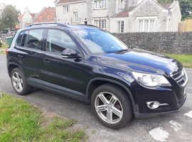 Volkswagen Tiguan, 2010 (10) Black Estate, Manual Diesel, 139,764 miles