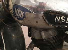 NSU LUX 1955 2 Stroke Dry stored