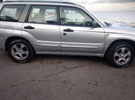 Subaru Forester, 2004 (54) Silver Estate, Manual Petrol, 130 miles