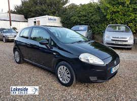 Fiat Grande Punto 1.2 Litre 3 Door Hatchback, Long MOT, Recently Serviced, Cheap Insurance Group.