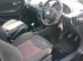 Seat Ibiza, 2007 (07) Black Hatchback, Manual Petrol, 83,000 miles
