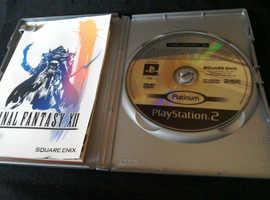 Ps2.Metal Gear Solid & Final Fantasy vll.