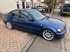 BMW 3 Series, 2003 (53) Blue Saloon, Automatic Petrol, 89,000 miles
