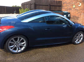 Peugeot RCZ, 2011 (61) Blue Coupe, Manual Diesel, 45,122 miles EXCELLENT!