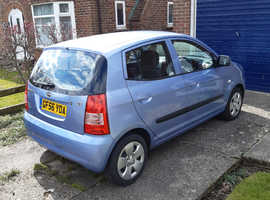 Kia Picanto, 2006 (56) Blue Hatchback, Manual Petrol, 41,350 miles