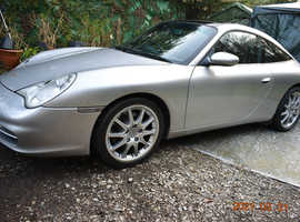 Porsche 996 2002 (52) Silver Coupe, Manual Petrol, 138,578 miles