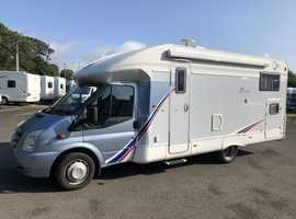 Bright and Spacious Motorhome with Twin Fixed Beds