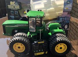 John Deere 9420 remote control rare tractor
