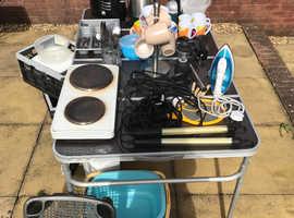 Caravan / Camping start up utensils/essentials