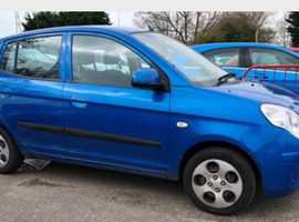 Kia Picanto, 2010 (59) Blue Hatchback, Manual Petrol, 78,874 miles